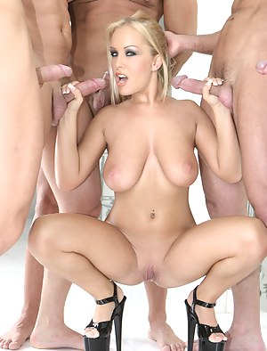 XXX MILF Gangbang Galleries
