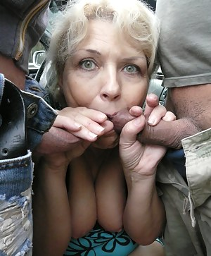 XXX MILF Blowbang Galleries