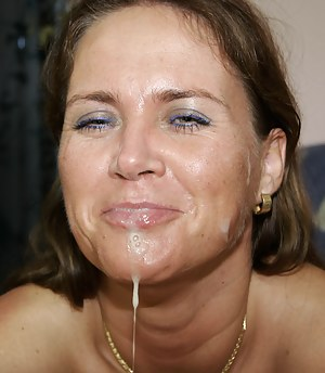XXX MILF Facial Galleries